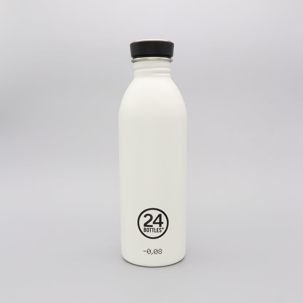 Water Bottle Lightweight 500ml Ice White