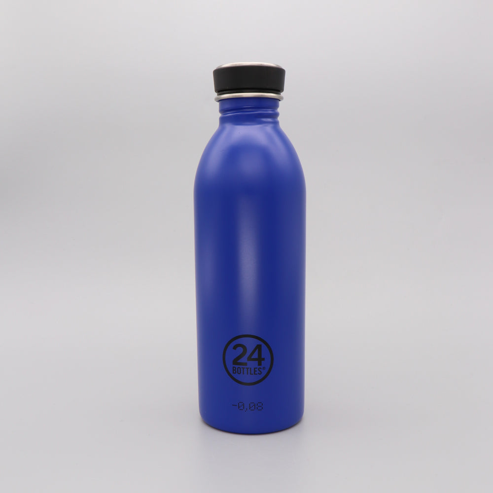 Load image into Gallery viewer, Water Bottle Lightweight 500ml Gold Blue