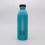 Water Bottle Lightweight 500ml Blue-Green Atlantic Bay Stone