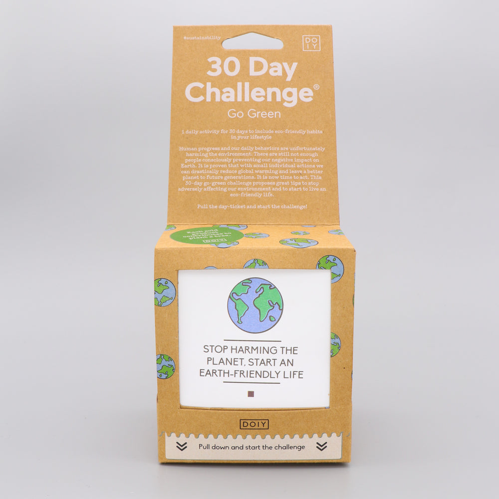 Activity Game Tickets 30 Days Go Green Challenge