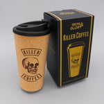 Coffee Cup 'Killer Coffee' Iron and Glory Cork