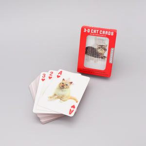 Playing Cards Cats Lenticular 3D Images
