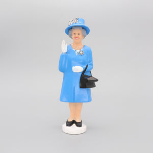 Solar Queen Figurine Waving Derby Edition Blue