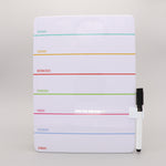 Daily Magnetic Dry Erase Board with Marker