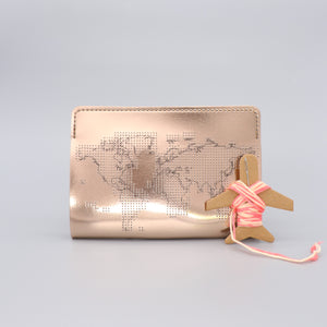 Passport Cover Stitch Your Own Faux Leather Rose Gold