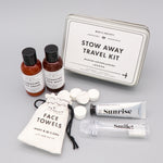 Personalised Gift Stow Away Travel Kit