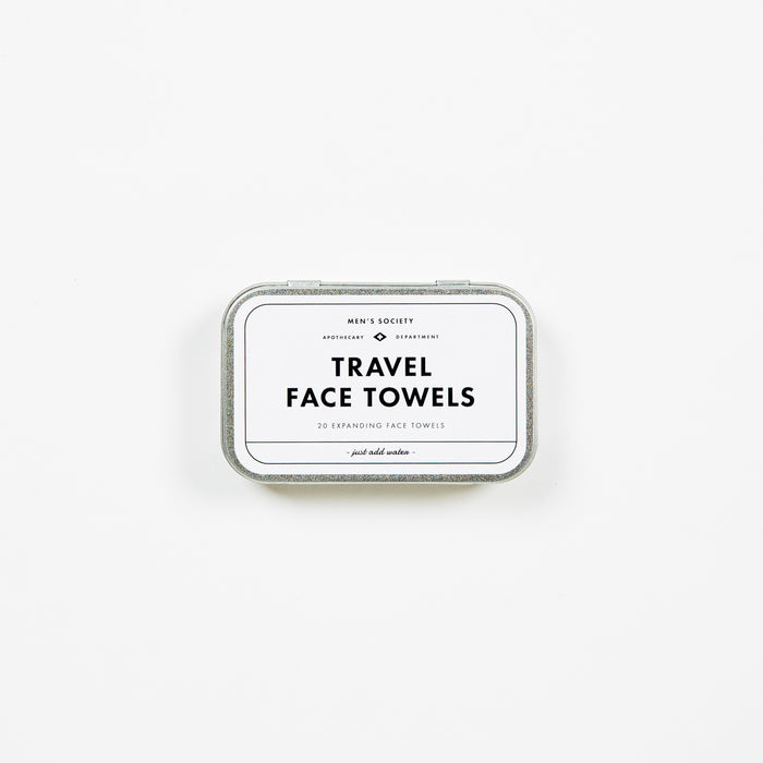 Travel face towels