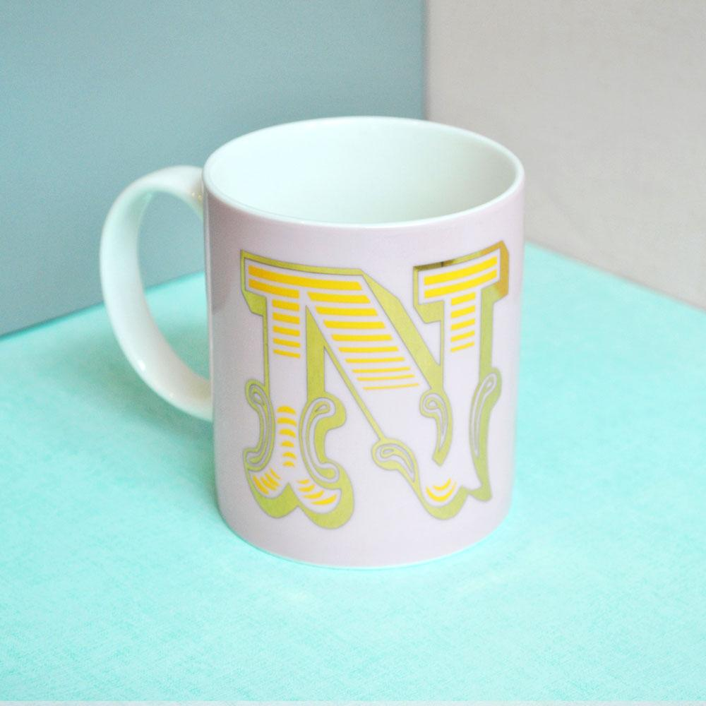 N | Luxury china mug Kitchen Huey - Brand Academy Store
