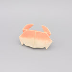 Baby Teether Bath Toy Rubber Crab 'H2Origami' Light Pink