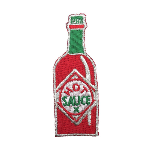 Hot sauce iron-on patch Misc U Studio - Brand Academy Store