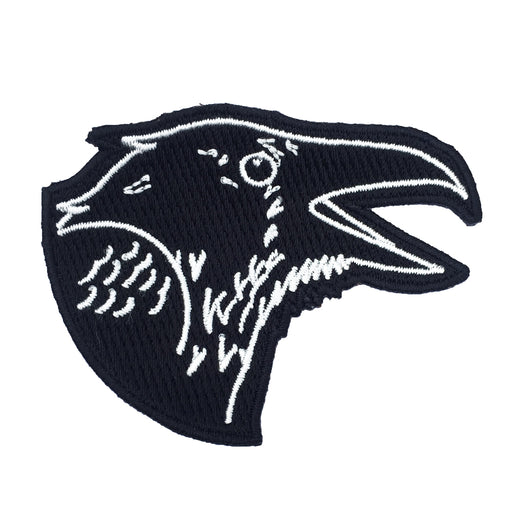 Black raven stitch-on patch Misc U Studio - Brand Academy Store