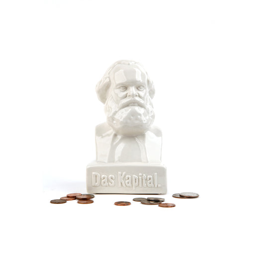 Karl Marx 'Das Kapital' Bank Coin Collector Home KIKKERLAND - Brand Academy Store