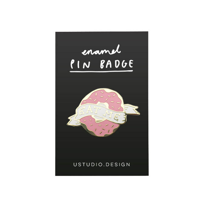 Eat me pin badge Misc U Studio - Brand Academy Store