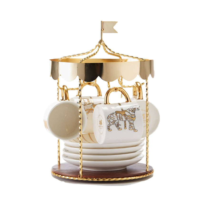 Carousel tea set