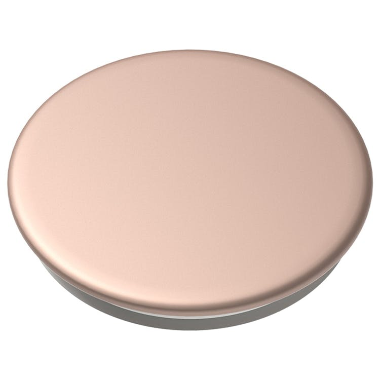 Mobile accessory  expanding hand-grip and stand Popsocket in aluminum rose gold