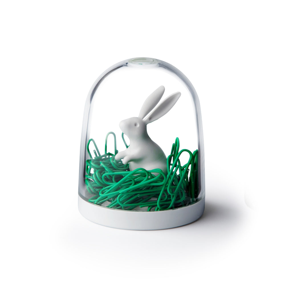 Load image into Gallery viewer, Bunny Paper Clip Holder Stationery Pot