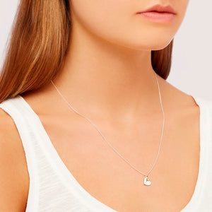 Heart and star double charm silver and gold necklace Fashion Estella Bartlett - Brand Academy Store