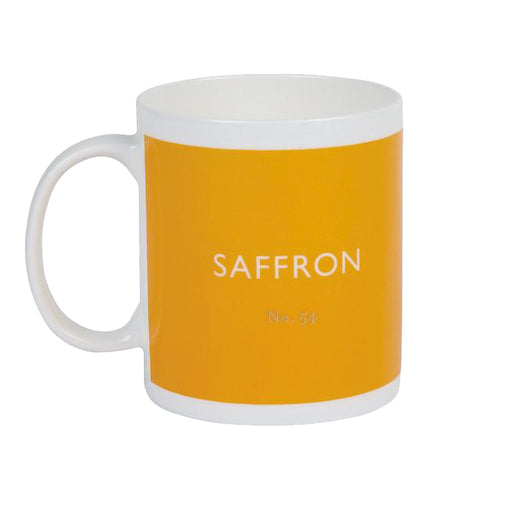 Saffron warm yellow mug Kitchen Designed in Colour - Brand Academy Store