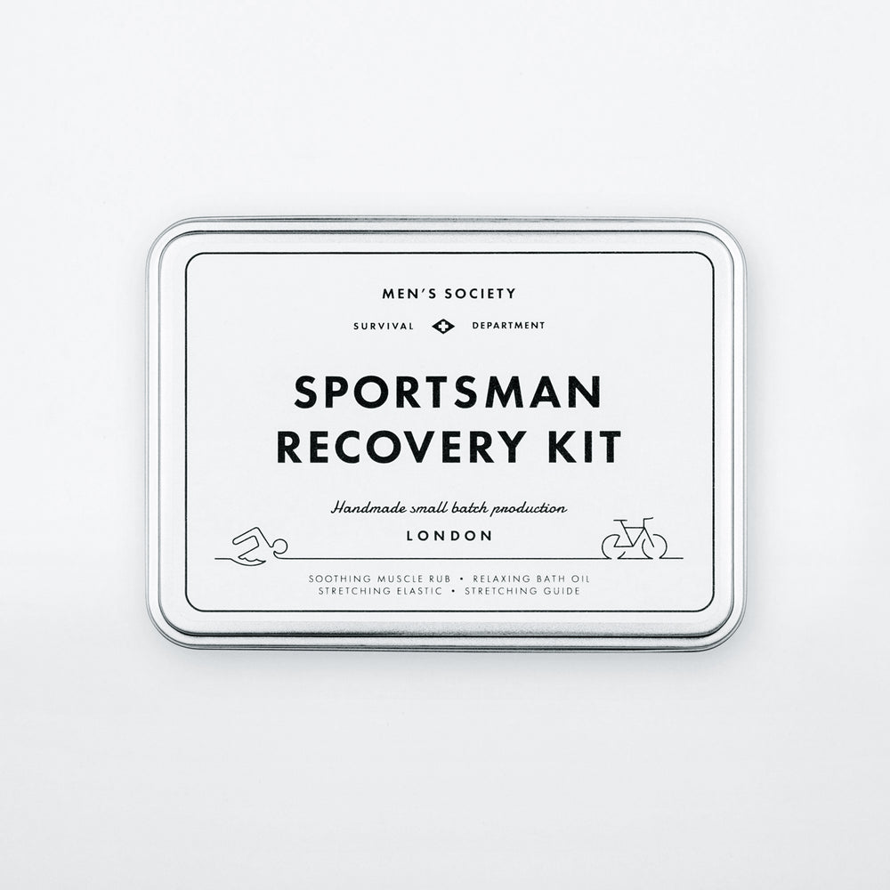Personalised Gift Sportsman Recovery Kit