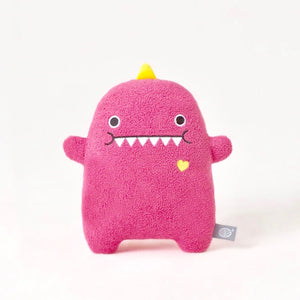 Load image into Gallery viewer, Dinosaur plush soft toy for children 'Ricedino' in pink