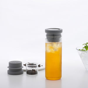 Cold Brew Tea & Herb Infuser Glass Bottle Set
