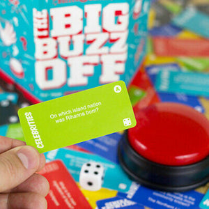 Quiz Game 'The Big Buzz Off' Red