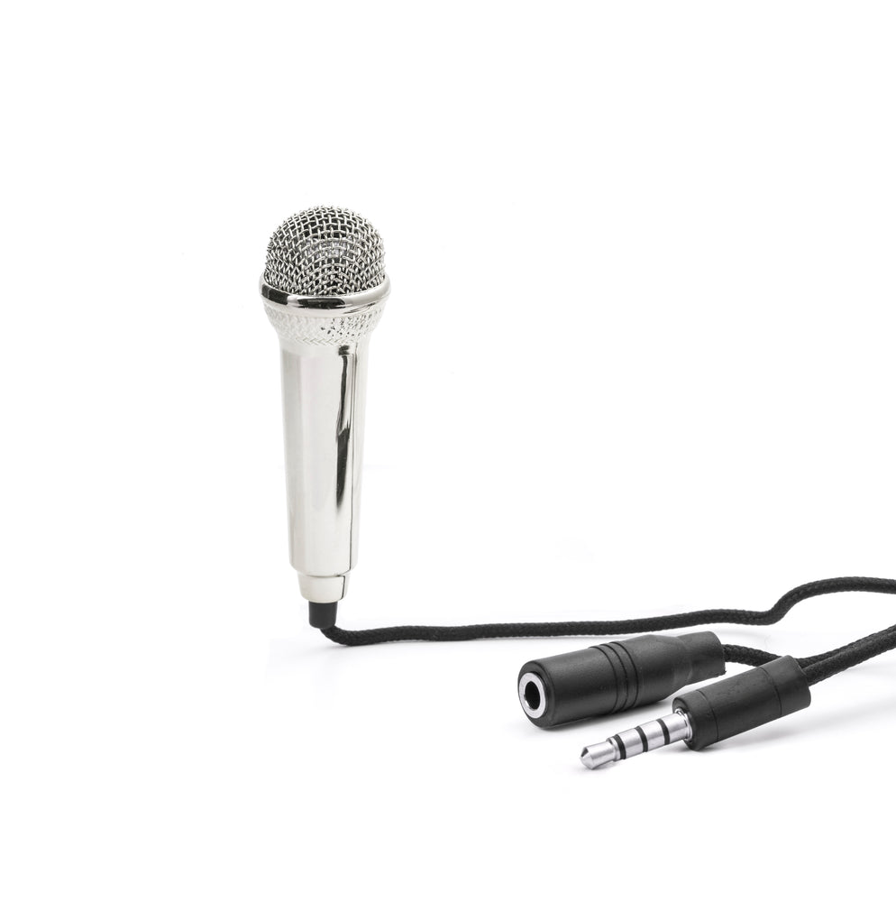 Load image into Gallery viewer, Mini Karaoke Microphone Home KIKKERLAND - Brand Academy Store