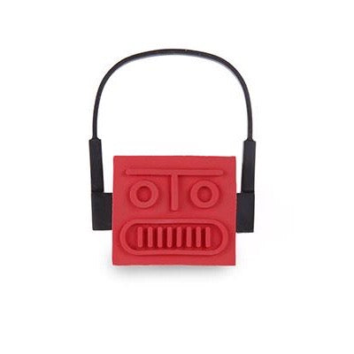 Power bank with 'Go-Bot' in red