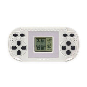 Retro arcade game shaped as a PSP console in grey