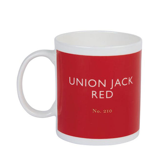 Union Jack red mug Kitchen Designed in Colour - Brand Academy Store