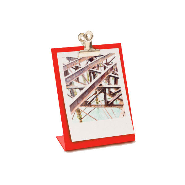 Small clipboard frame in red