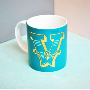 V | Luxury china mug