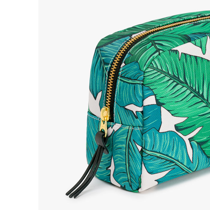 Tropical print beauty make up bag Home Wouf - Brand Academy Store