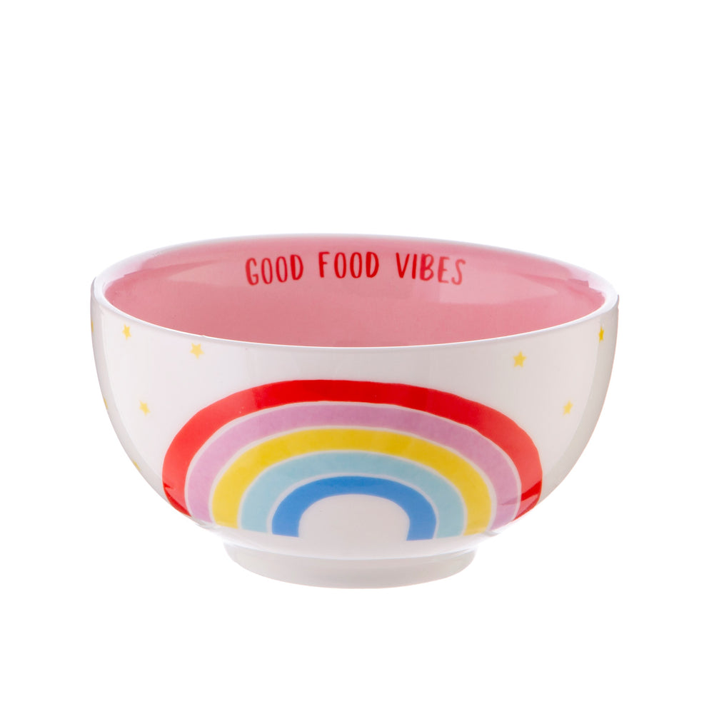 Rainbow Fruit Bowl & Cereal Bowl