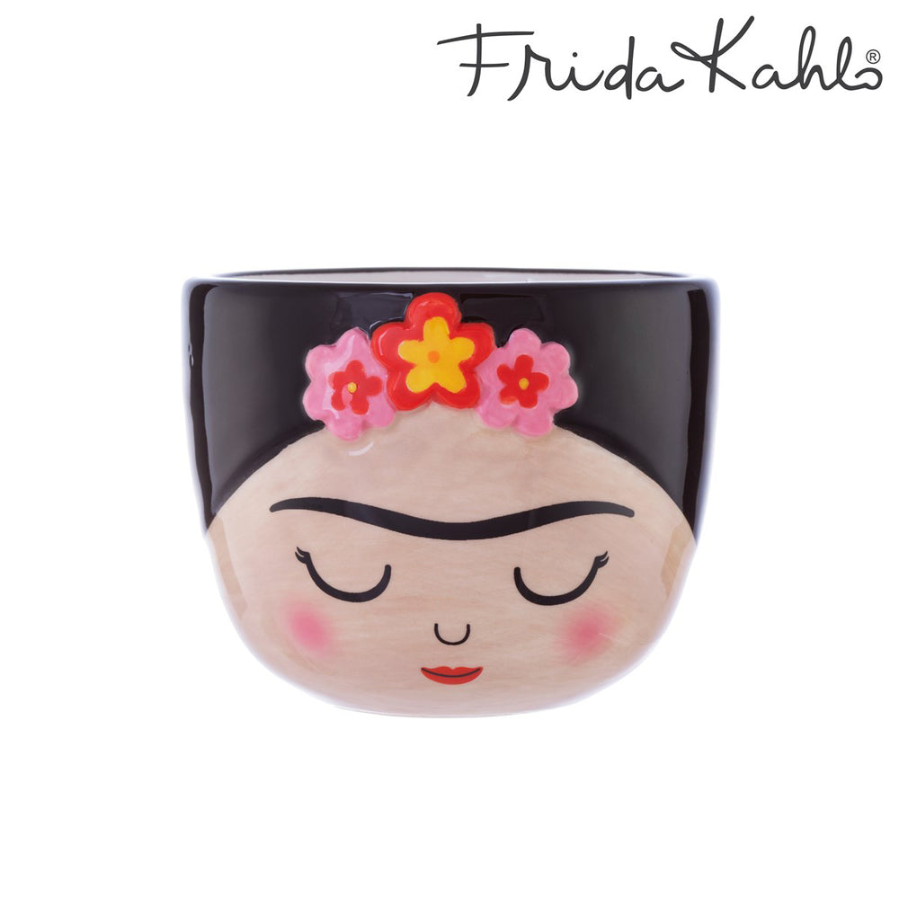 Mini Planter Plant Pot Frida Kahlo Hand Painted