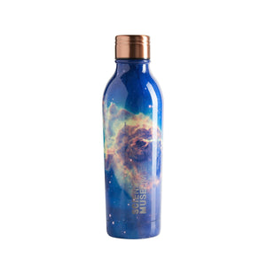 Water Bottle Insulated Double Walled Leak Proof 500ml Nebula Space Design