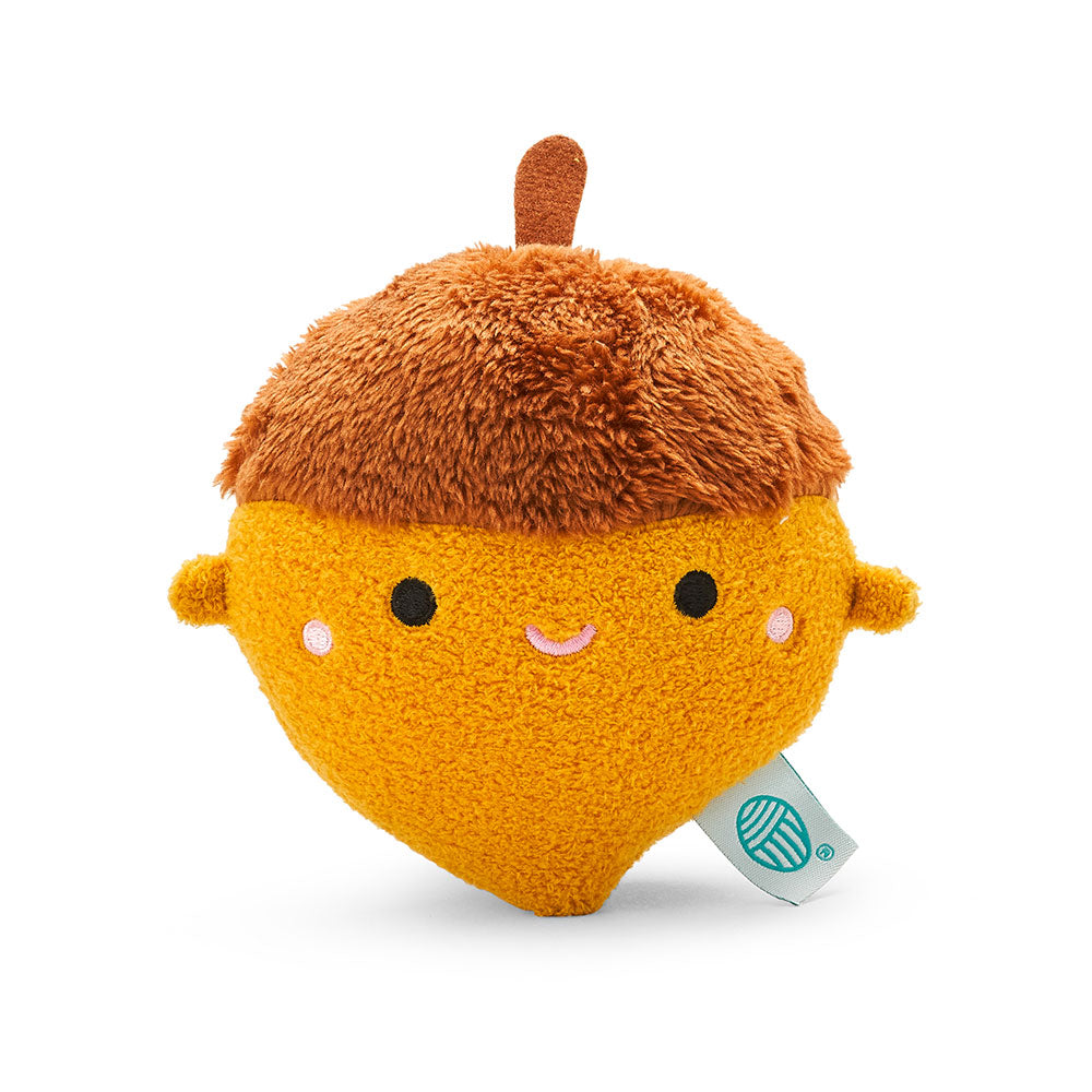 Acorn mini plush soft toy for children 'Riceacorn' in brown