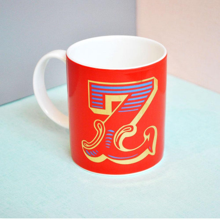 Z | Luxury china mug Kitchen Huey - Brand Academy Store