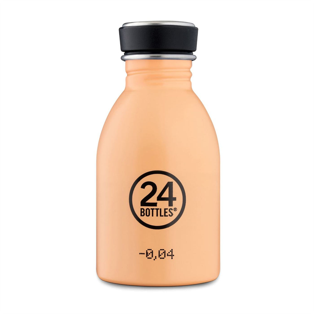 Water Bottle Lightweight 250ml Pink-Orange Peach