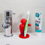 Apollo toothbrush holder red
