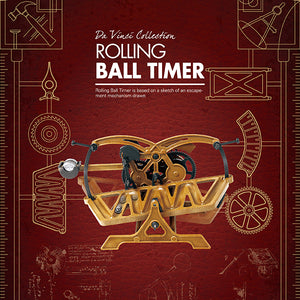 Load image into Gallery viewer, Da Vinci Collection Rolling Ball Timer Model Kit