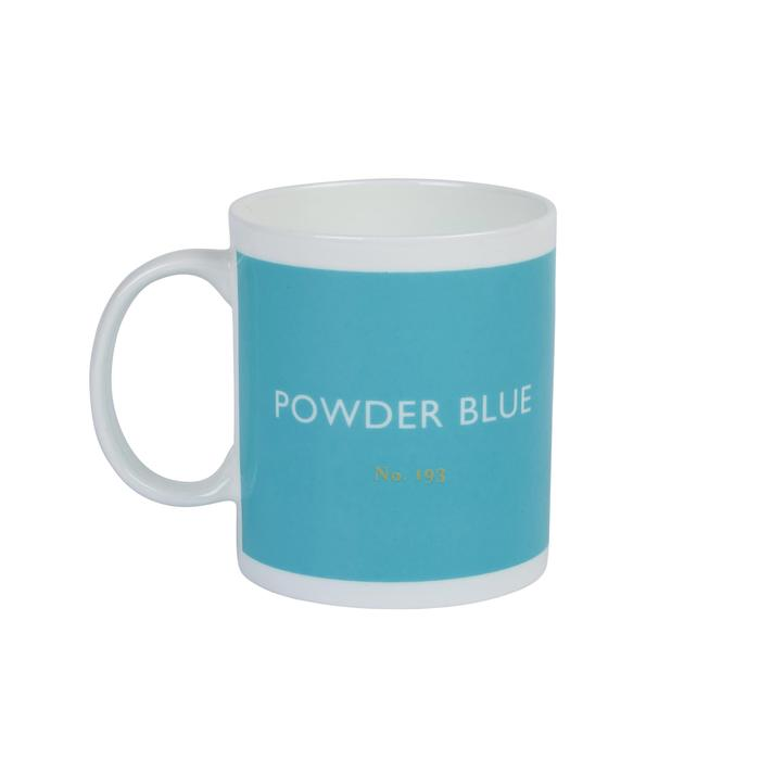 Mug by British Colour Standard in Powder Blue
