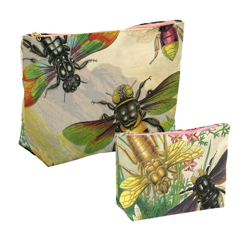 Rainbow insects Wash bags