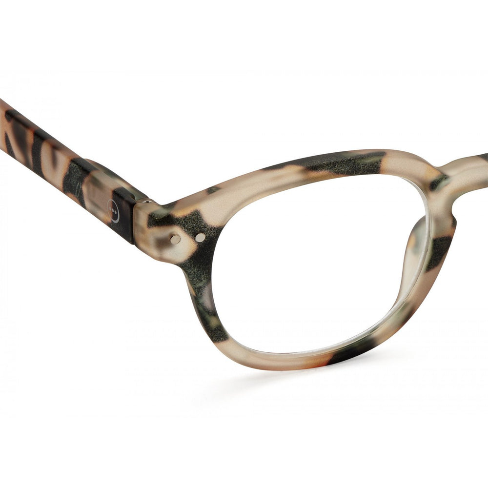 Reading Glasses Style C Light Tortoise +2