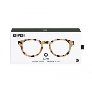 Reading Glasses Style C Light Tortoise +1