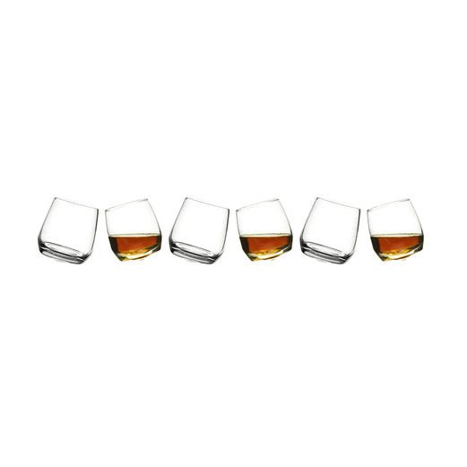 Sagaform - Rocking Whiskey Glasses Set of 6