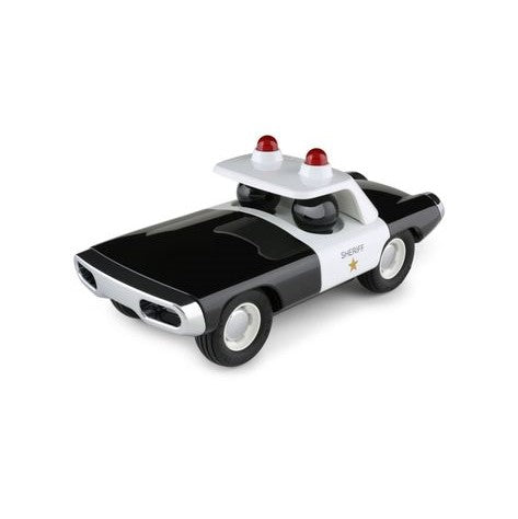 Toy Car - Sheriff - Black and White