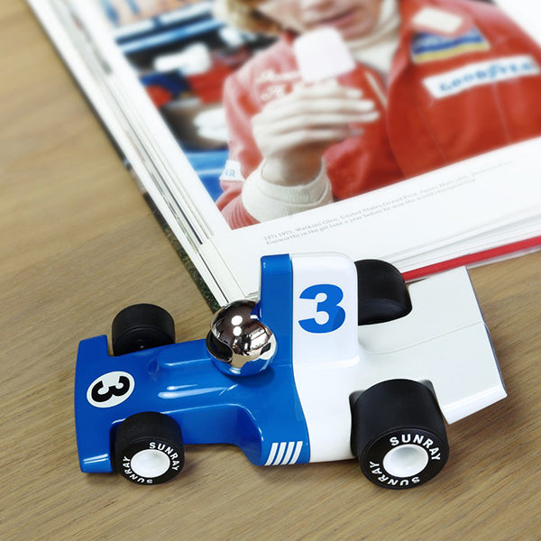 Load image into Gallery viewer, Toy Car F1 Sport Car Velocita Lorenzo in Blue