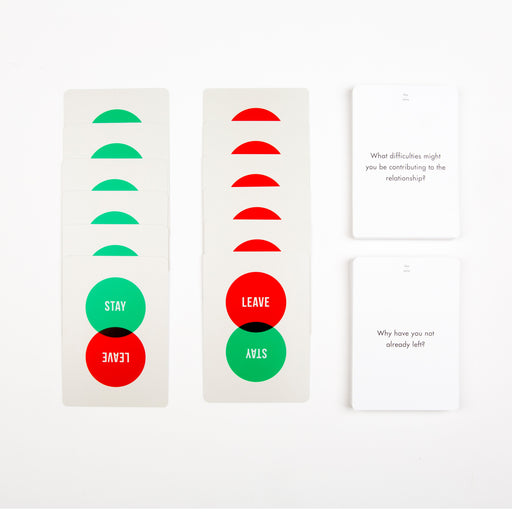 Stay or leave card game Game The School of Life - Brand Academy Store