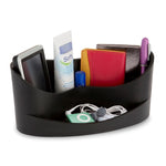 Casa organiser in black